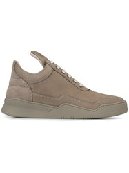 Filling Pieces Long Tongue Sneakers Nude And Neutrals