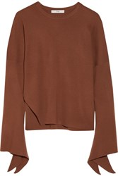 Tibi Wool Sweater Brick