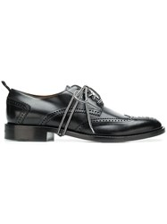 Givenchy Perforated Derby Shoes Black