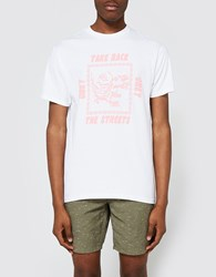 Obey Take Back The Streets Ss Tee White