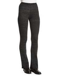 Zadig And Voltaire Step Boot Cut Knit Pants Gris