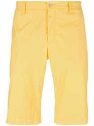 Etro Chino Shorts Yellow Orange