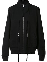Damir Doma Zipped Hooded Jacket Black