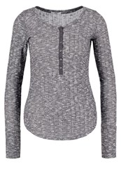 Abercrombie And Fitch Cozy Jumper Charcoal Dark Grey