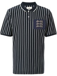 Kent And Curwen Mccabe Polo Shirt Blue