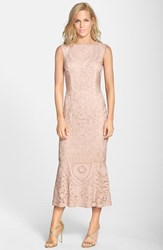 Women's Js Collections Soutache Overlay Gown