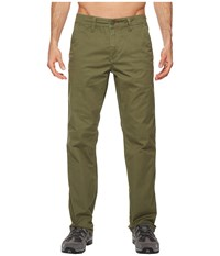 Toadandco Mission Ridge Pant Thyme Casual Pants Green