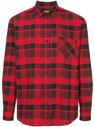 Adaptation Plaid Lumberjack Shirt Red