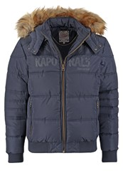 Kaporal Jotus Winter Jacket Navy Dark Blue