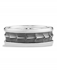 David Yurman Men's Sterling Silver Armory Narrow Band Ring