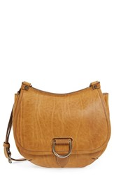 Frye 'Amy' Leather Crossbody Bag Brown Camel