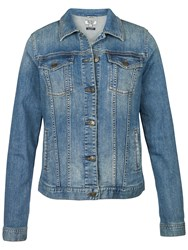 Fat Face Tasha Denim Jacket Mid Denim