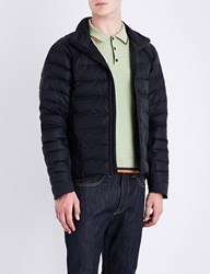 Canada Goose Hybridge Perren Quilted Shell Jacket Navy