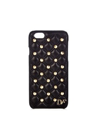 Diane Von Furstenberg Studded Quilted Leather Iphone 6 Case