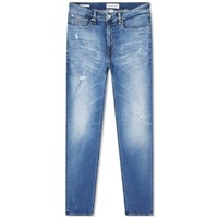 Calvin Klein 016 Washed Skinny Jeans Blue