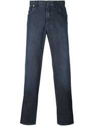 Brioni Slim Fit Jeans Blue