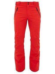 Toni Sailer Will New Padded Technical Ski Trousers Red
