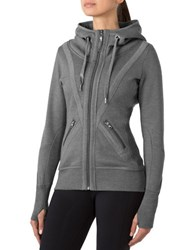 Mpg Valencia Athletic Hoodie Heather Charcoal