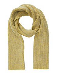 Jigsaw Oban Two Colour Knitted Scarf Grey