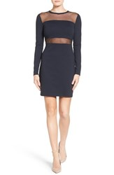 Michael Michael Kors Women's Mesh Panel Sheath Dress