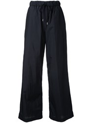 En Route Drawstring Palazzo Pants Women Nylon 2 Black