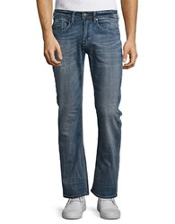 Buffalo David Bitton King X Slim Boot Stretch Jeans Indigo