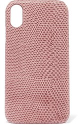 The Case Factory Lizard Effect Leather Iphone Xr Pink