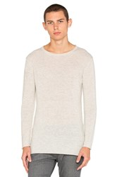 Diesel Tiger Sweater Light Gray