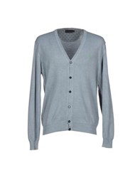 Brooksfield Knitwear Cardigans Men Grey