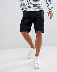 French Connection Military Cargo Shorts Navy