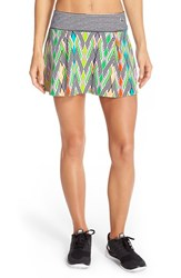 Women's Trina Turk 'Neon Lights' Tennis Skirt