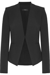Theory Lanai Stretch Wool Blazer Black