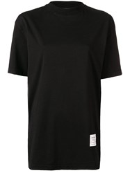 Acne Studios Mock Neck T Shirt Black