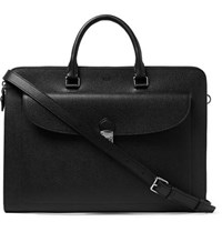 Tod's Pebble Grain Leather Briefcase Black