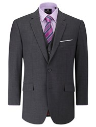 Skopes Halden Suit Jacket Charcoal