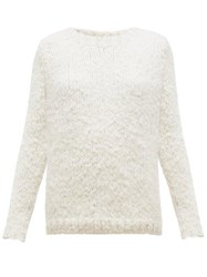 Gabriela Hearst Lawrence Cashmere Sweater Ivory
