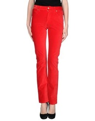 Gattinoni Casual Pants Red