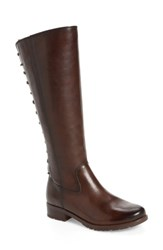 Sofft Women's 'Sharnell' Riding Boot Aztec Brown Leather