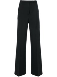 Alberta Ferretti Flared Trousers Women Spandex Elastane Cupro Other Fibres Virgin Wool 42 Black