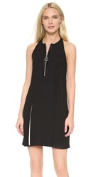 Edun Satin Crepe Dress Black