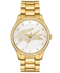 Lacoste Watch Women's Victoria Gold Ion Plated Stainless Steel Bracelet 40Mm 2000827