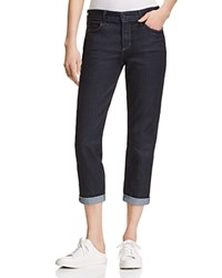 Nydj Alina Rolled Cuff Ankle Jeans Dark Enzyme