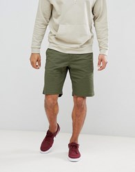 Only And Sons Chino Shorts Olive Night Green