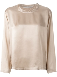 Agnona Long Sleeve Blouse