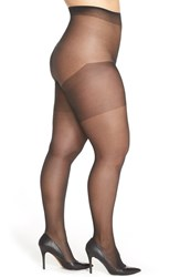 Plus Size Women's Charnos '30 Denier' Sheer Tights Black