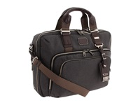 Tumi Alpha Bravo Yuma Slim Briefcase Anthracite Briefcase Bags Pewter