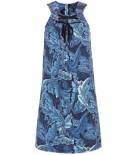 Marc By Marc Jacobs Printed Mini Dress Blue