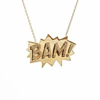 Edge Only Bam Pendant Large In Gold