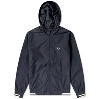 Fred Perry Authentic Hooded Brentham Jacket Blue