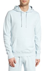 Reigning Champ Men's Lightweight Terry Pullover Hoodie Sky Blue